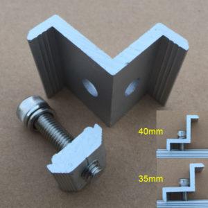 EndClamp 35/40mm Adjustable